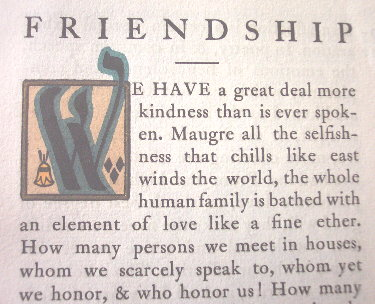 emersons essay on friendship